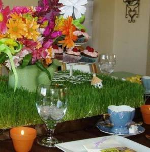 Garden Theme Tea Party