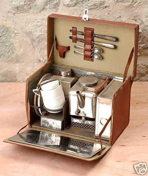 traveling tea set